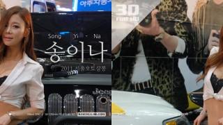 2011 서울오토살롱 니콘 & 모델 송이나님